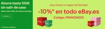 10% de descuento en eBay durante el fin de semana con este código promocional