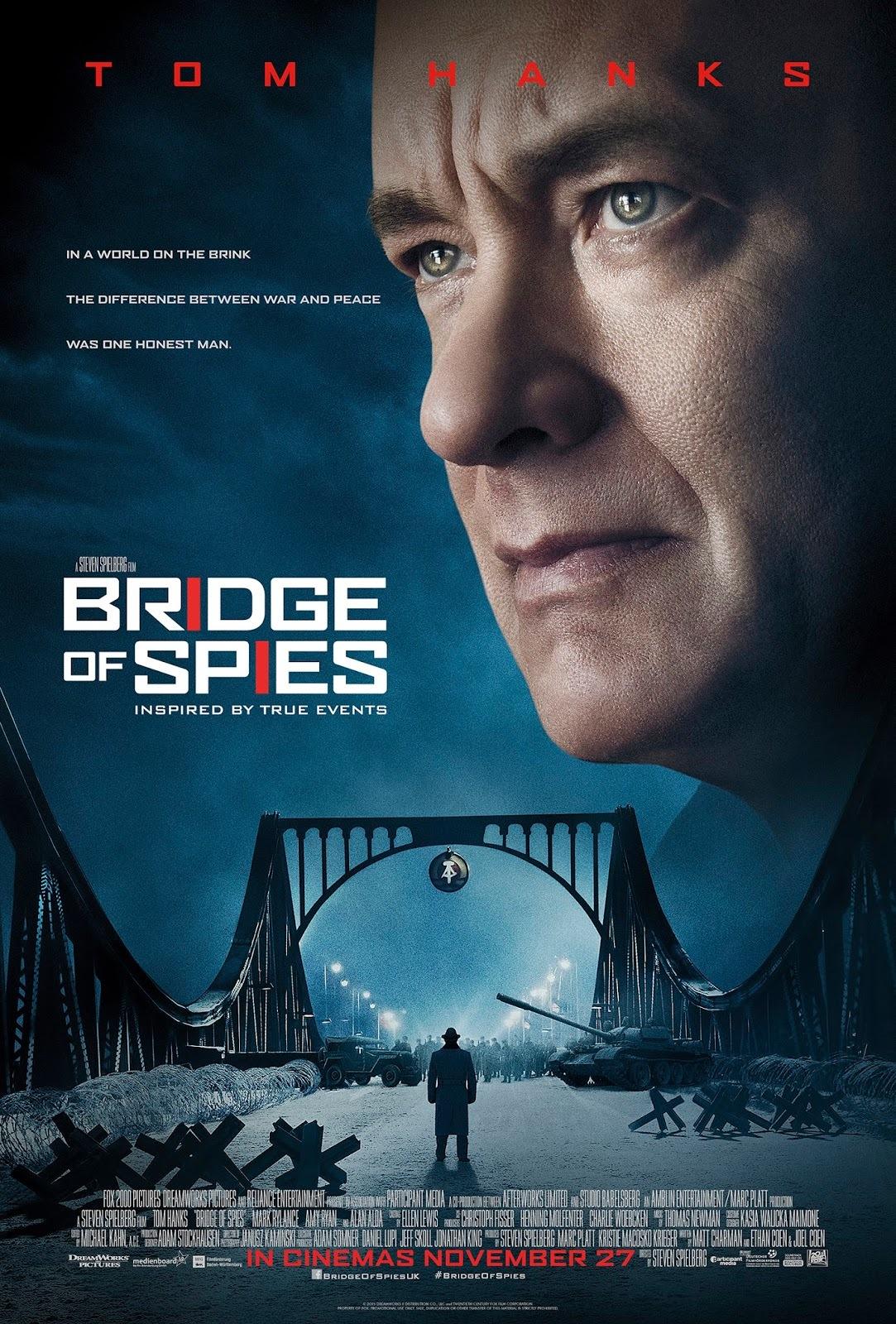 Foto de 'El puente de los espías' ('Bridge of Spies'), los carteles (6/6)