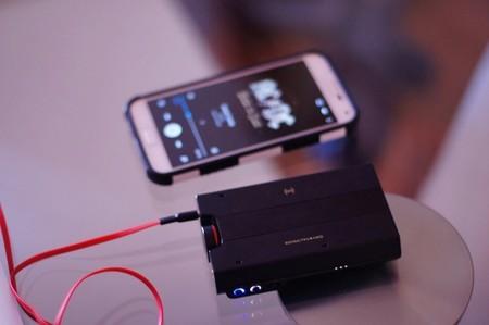 Escuchando música desde el móvil por Bluetooth