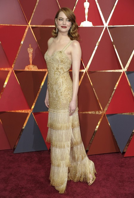 Emma Stone Givenchy Oscars2017