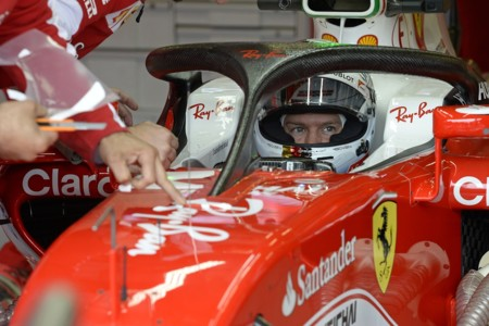Vettel Halo