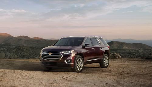 El nuevo Chevrolet Traverse es lujo (¿o deportividad?) con espacio real para ocho personas