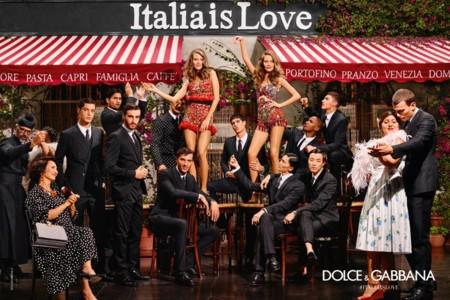 Dolce & Gabbana continúan su affaire con Italia en la campaña primavera-verano 2016