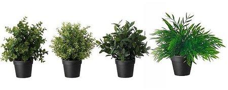 Plantas artificiales  Fejka de Ikea