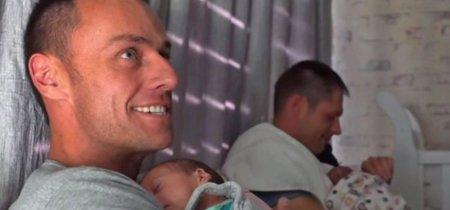 Una pareja gay se convierte en padres de trillizos que llevan el ADN de ambos: primer caso en el mundo