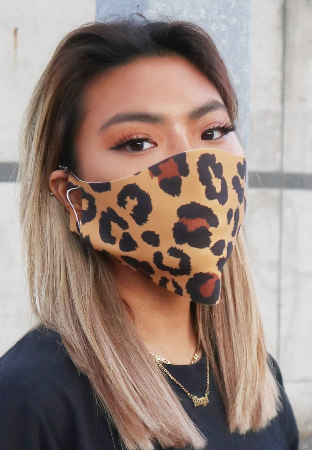 Pack de 2 mascarillas faciales unisex con estampado animal de ASOS DESIGN