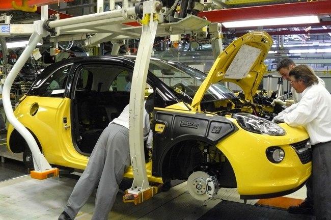 Cadena de montaje Opel Adam en Eisenach