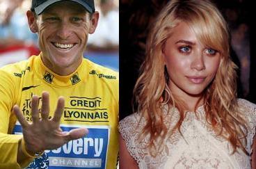 Lance Armstrong y Ashley Olsen, ¡juntos!