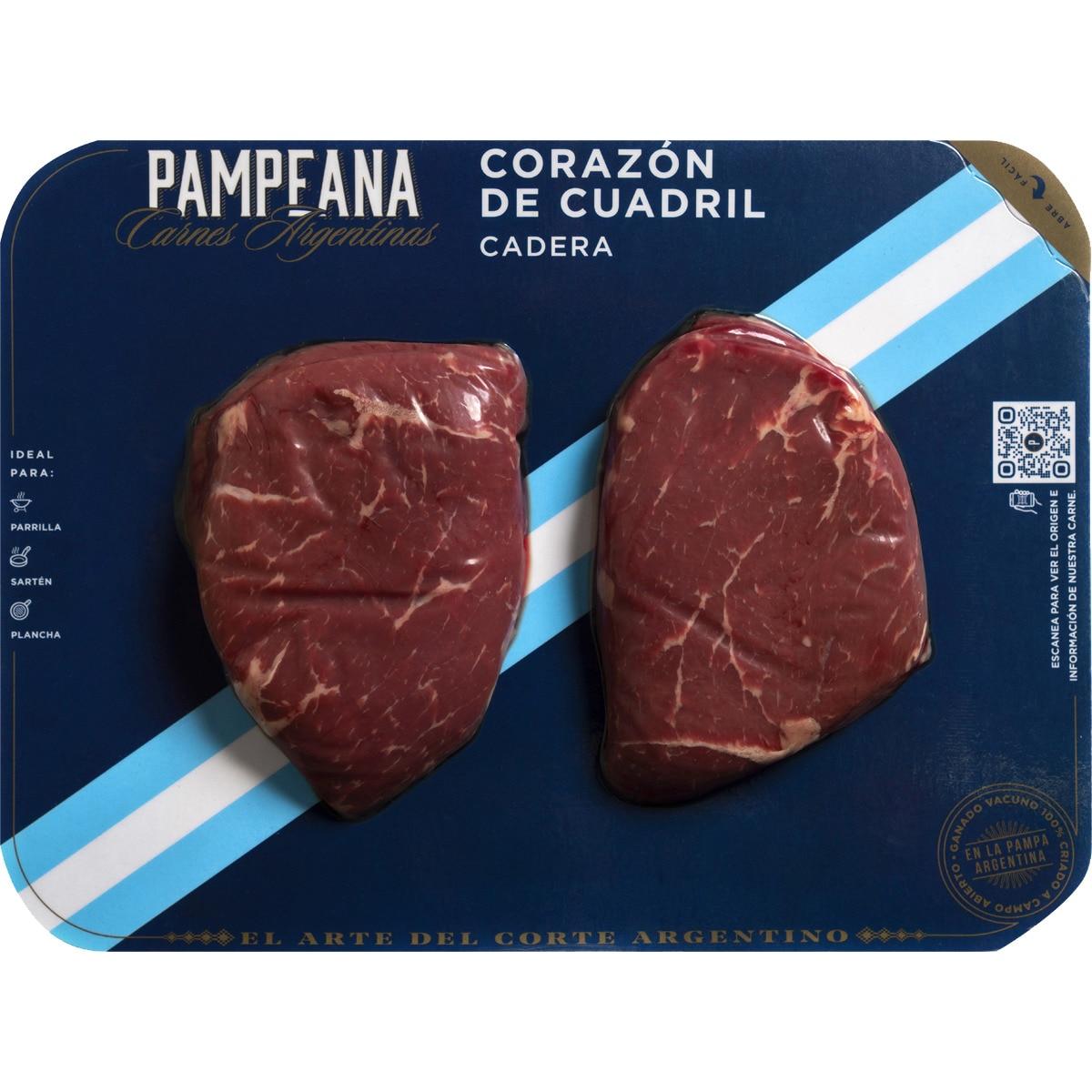 PAMPEANA novillo argentino Corazón de cuadril peso aproximado bandeja 280 gramos