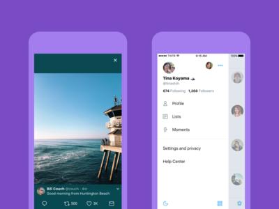 Llega el verano y Twitter refresca el diseño de sus apps para iOS y Android