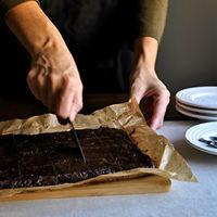 La sorprendente receta del brownie de aguacate