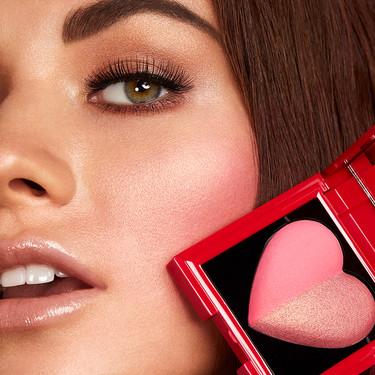 11 cosméticos de maquillaje llenos de corazones para conquistar este San Valentín
