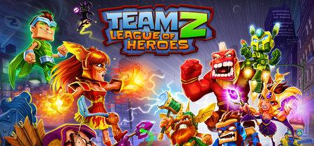 Reírse de los superhéroes puede ser muy divertido con el juego TeamZ - League of Heroes de GuiltyBear