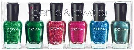 Gems & Jewels, purpurinas diferentes de la mano de Zoya