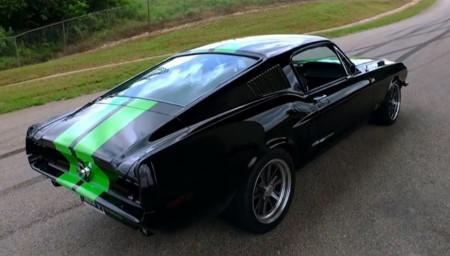 Ford Mustang del 68 eléctrico con 800 CV: ¿gran idea o gran aberración?