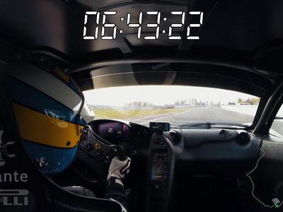 El brutal récord del McLaren P1 LM en Nürburgring Nordschleife, en vídeo y desde dentro