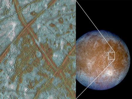 La NASA se empeña en querer encontrar vida en la luna Europa y planea una misión de investigación in situ
