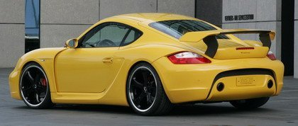 Porsche Cayman S Techart