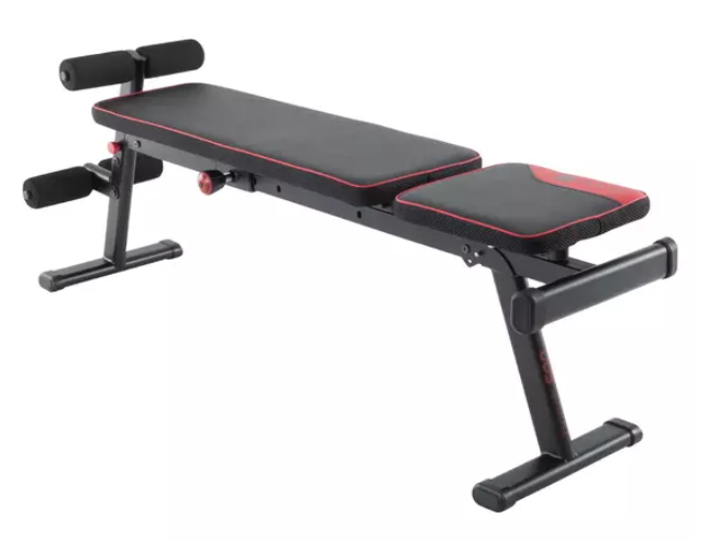 BANCO MUSCULACIÓN PLEGABLE INCLINABLE DOMYOS 500