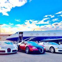 Floyd Mayweather Jr. y su impresionante colección de coches