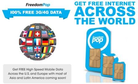 FreedomPop lanza Global hotspot en Europa: acceso a Internet gratis en 25 países, aunque con alguna pega inicial