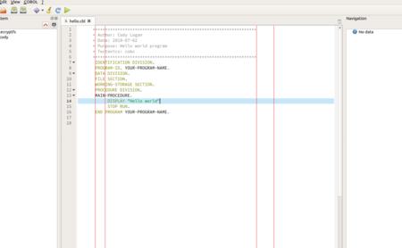 Soy desarrollador profesional y sigo programando en COBOL