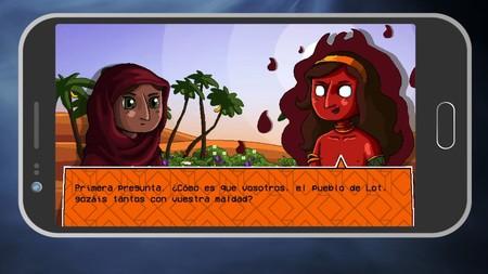 El juego de Zhara, libro interactivo