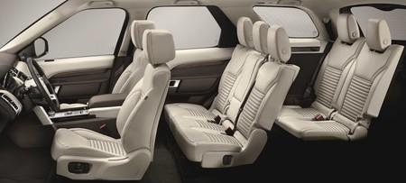 Nuevo Land Rover Discovery Interior Allrows