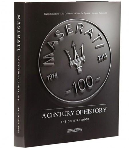 Maserati, un siglo de historia en un libro indispensable