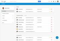 Así es el nuevo Google Contacts en la web: Material Design y centrado en simplificar e integrar
