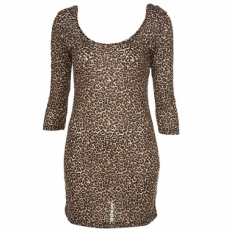 Vestidos de Navidad por TopShop. Cuatro estilos y un sinfín de looks a combinar, vestido animal print