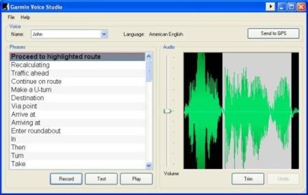 Crea tus voces para tu GPS con Garmin Voice Studio
