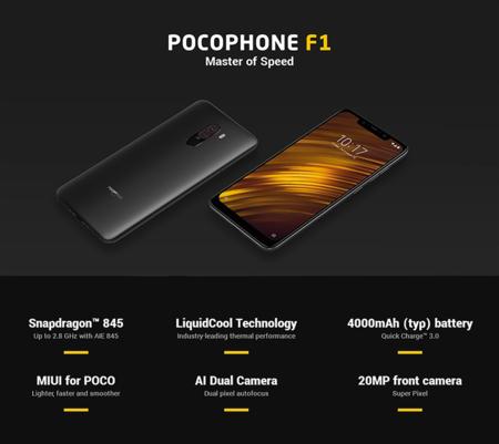 Xiaomi Pocophone F1, con una Mi Band 3 de regalo, por sólo 274,87 euros utilizando este cupón