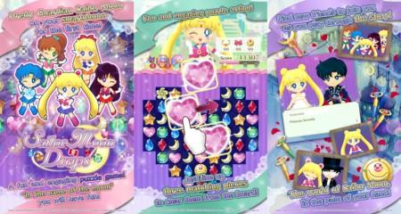 Sailor Moon se da a los puzles en Android