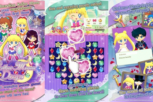 Sailor Moon se da a los puzles en Android