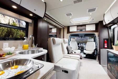 As 237 Es Una Autocaravana De Lujo Seg 250 N Leisure Travel Vans