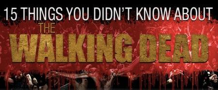15 cosas que no sabías sobre 'The Walking Dead', infografía