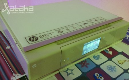HP Envy 110 e-All-in-one. Toma de contacto