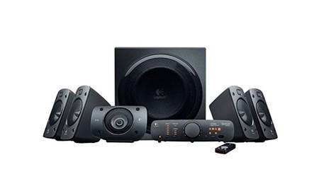 El Logitech Z906 es un buen sistema de sonido para tu TV o tu PC que en PcComponentes te sale por 267 euros