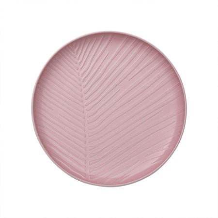 Plato rosa