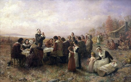Thanksgiving Brownscombe