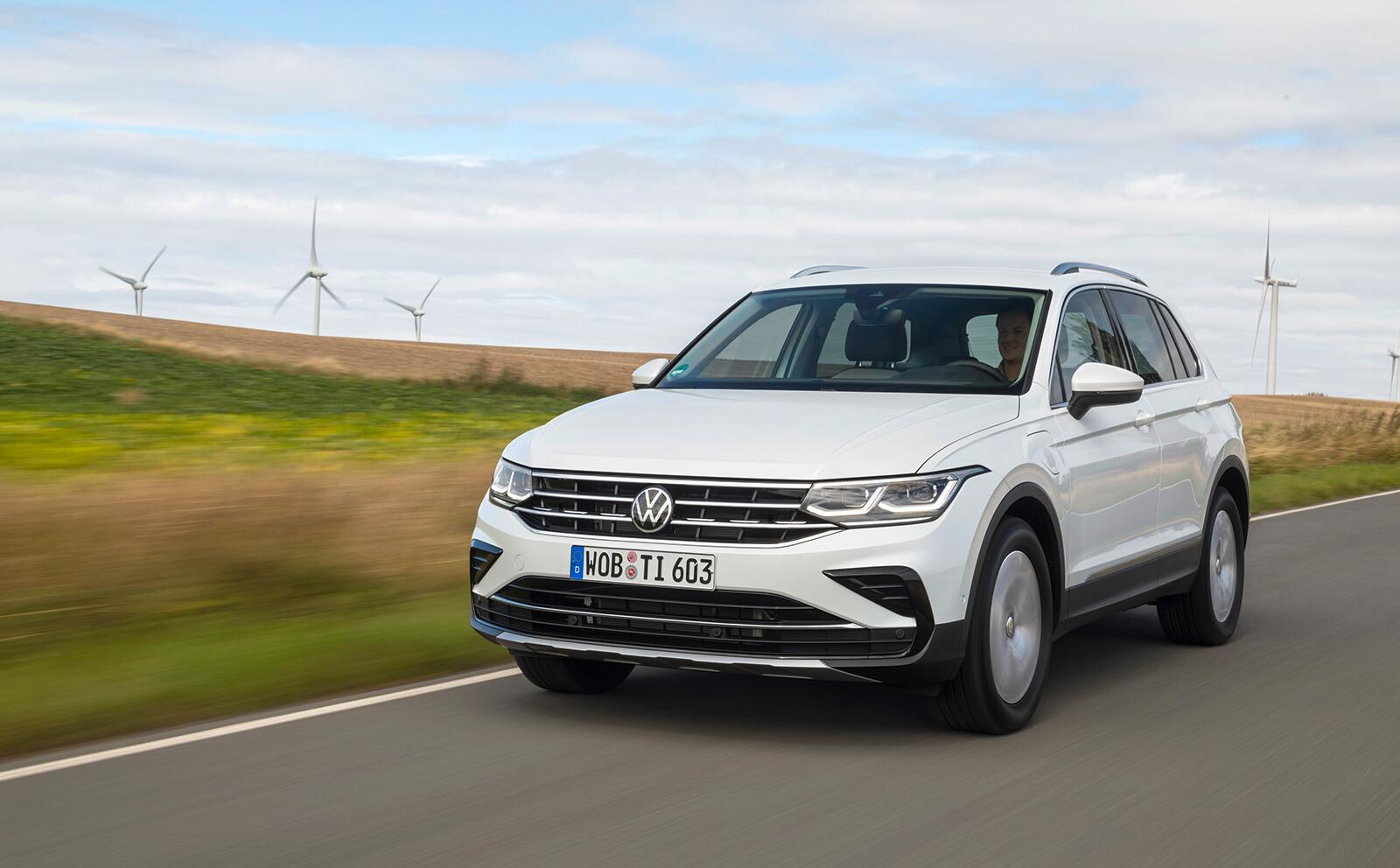 Foto de Volkswagen Tiguan eHybrid 2021 (2/8)