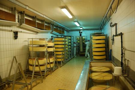 Fábrica de queso