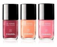 Los nuevos colores de esmaltes de uñas de Chanel para la primavera 2012