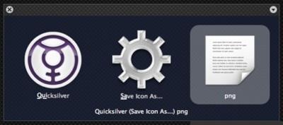 IconGrabber: haz capturas de tus iconos con Quicksilver