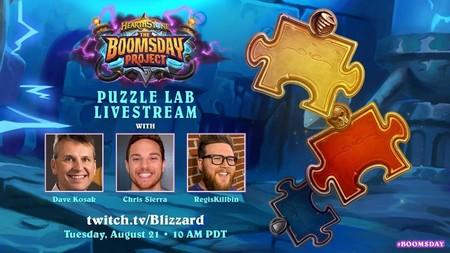 Puzzle Labs, el modo monojugador de Hearthstone: El Proyecto Armagebum abre sus puertas mañana