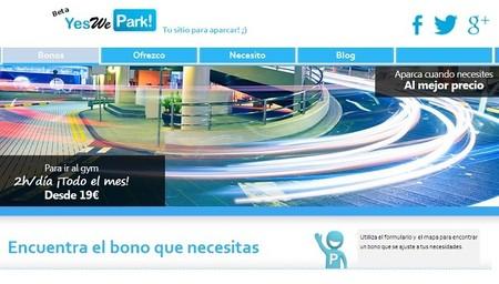 YesWePark, la plataforma para compartir aparcamiento, se reinventa con sus bonos ahorradores
