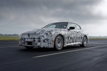 Bmw Serie 2 Coupe 2021 Teaser 009