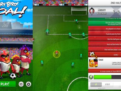 Angry Birds Goal, los pájaros se pasan al fútbol en formato mánager