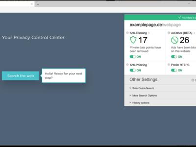 Así es Cliqz, el navegador que integra todas las herramientas pro privacidad y antirastreo de Ghostery